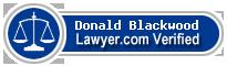Donald James Blackwood  Lawyer Badge