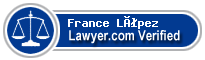 France Altagracia López  Lawyer Badge