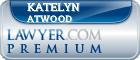 Katelyn Breanne Atwood  Lawyer Badge