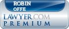 Robin E. Offe  Lawyer Badge