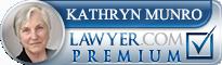 Kathryn A. Munro  Lawyer Badge