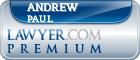 Andrew W. Paul  Lawyer Badge