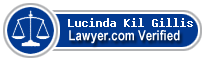 Lucinda Kil Gillis  Lawyer Badge