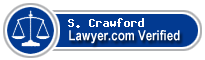 S. Jason Crawford  Lawyer Badge