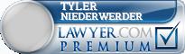Tyler J. Niederwerder  Lawyer Badge