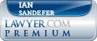 Ian Keith Sandefer  Lawyer Badge