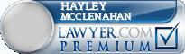 Hayley McClenahan  Lawyer Badge