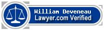William Deveneau  Lawyer Badge
