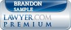 Brandon C. Sample  Lawyer Badge
