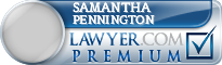 Samantha Dawn Pennington  Lawyer Badge