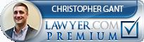 Christopher Gant  Lawyer Badge