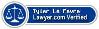 Tyler Le Fevre  Lawyer Badge