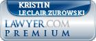 Kristin LeClair Zurowski  Lawyer Badge
