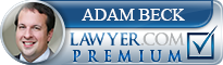 Adam P. Beck  Lawyer Badge