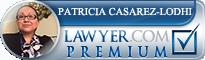Patricia Raquel Casarez-Lodhi  Lawyer Badge