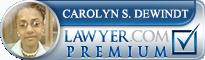 Carolyn S. DeWindt  Lawyer Badge