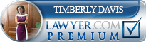 Timberly Davis  Lawyer Badge