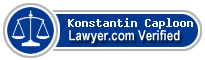 Konstantin A Caploon  Lawyer Badge
