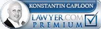Konstantin A Caploon  Lawyer Badge