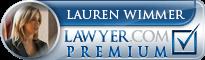 Lauren A Wimmer  Lawyer Badge