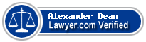 Alexander Michael Dean  Lawyer Badge