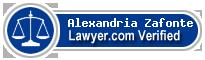 Alexandria Gauer Zafonte  Lawyer Badge