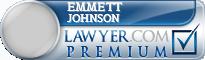 Emmett Preston Johnson  Lawyer Badge