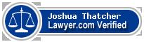 Joshua David Thatcher  Lawyer Badge