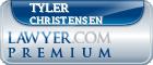 Tyler James Christensen  Lawyer Badge