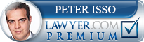 Peter Isso  Lawyer Badge