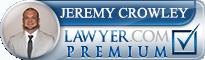 Jeremy Michael Crowley  Lawyer Badge