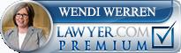 Wendi Werren  Lawyer Badge