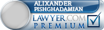 Alixander Pishghadamian  Lawyer Badge