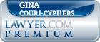 Gina Couri-Cyphers  Lawyer Badge