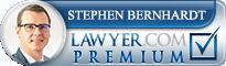 Stephen Bernhardt  Lawyer Badge