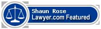 Shaun Rose  Lawyer Badge