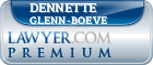 Dennette Glenn-Boeve  Lawyer Badge