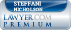 Steffani M. Pelton Nicholson  Lawyer Badge