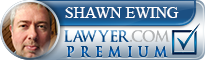 Shawn Ewing  Lawyer Badge