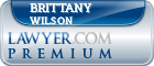 Brittany Flora Wilson  Lawyer Badge