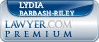 Lydia Anne Barbash-Riley  Lawyer Badge
