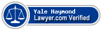 Yale Preston Haymond  Lawyer Badge