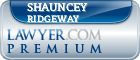 Shauncey Hunter Ridgeway  Lawyer Badge