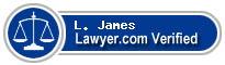 L. C. James  Lawyer Badge