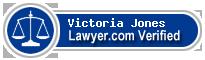Victoria Roseanne Jones  Lawyer Badge