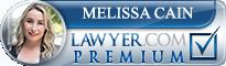 Melissa Cain  Lawyer Badge