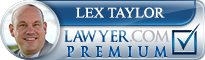 Lex Taylor  Lawyer Badge