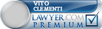 Vito A Clementi  Lawyer Badge
