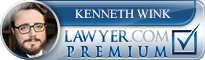 Kenneth J Wink  Lawyer Badge