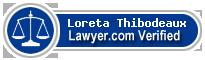 Loreta LeSage Thibodeaux  Lawyer Badge